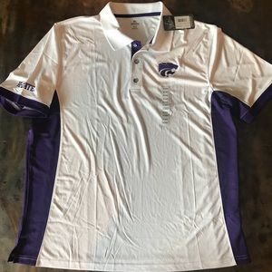 Other - NWT Men's KState Wildcats Polo 2XL